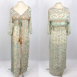 Gypsy Maxi Length Chiffon Dress Duster